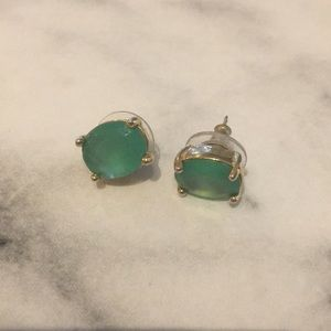 Jade Kate Spade earrings